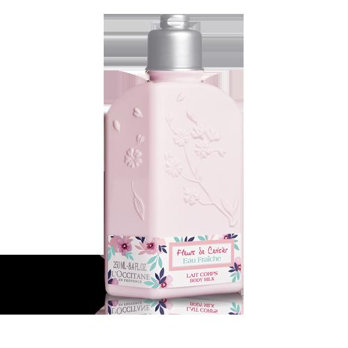 Leche de Cuerpo Agua Fresca Flores de Cerezo
