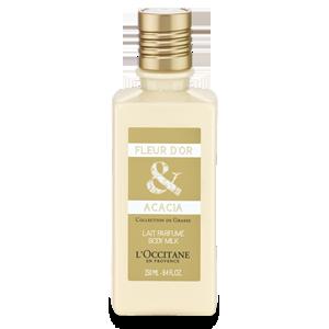 Leche de Cuerpo Perfumada Flor de Oro & Acacia