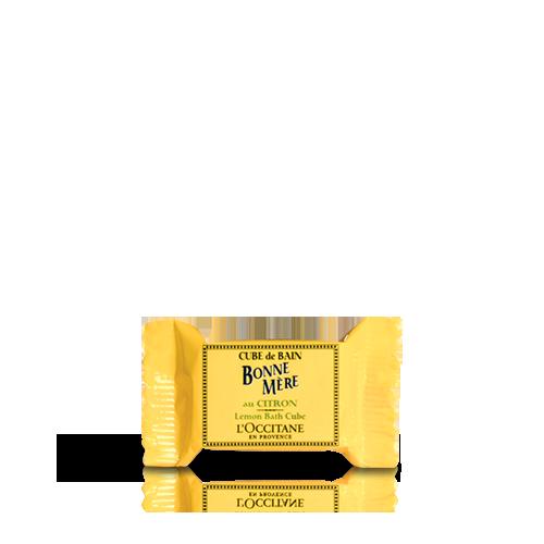 Bonne Mère Lemon Bath Cube