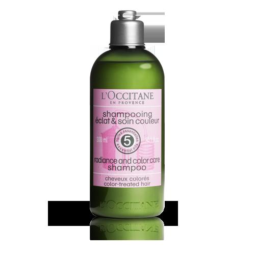 Shampoo Resplandor y Color Aromacología