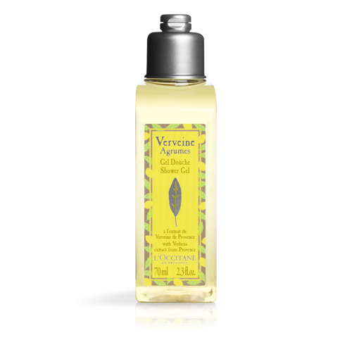 Verbena citrus shower gel