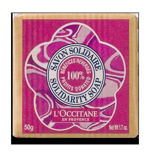Shea Butter Rose Tenderness Solidarity Soap 50gr