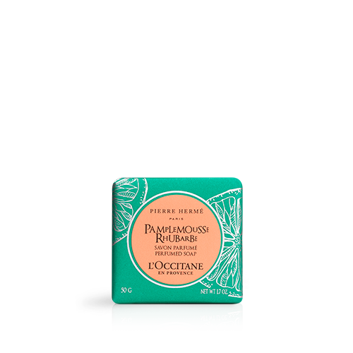 Grapefruit Rhubarb Perfumed Soap