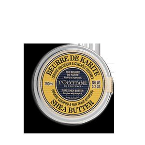 Beurre de Karité certifié bio* et contrôlé équitable*