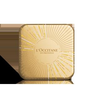 Boîte métal dorée