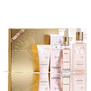Coffre Cadeau Parfum Néroli Orchidée