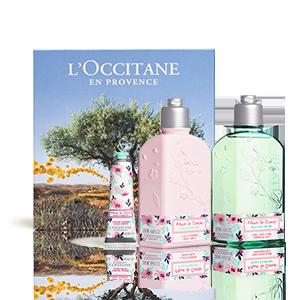 Coffret Bain Fleurs de Cerisier Eau Fraîche - L'OCCITANE