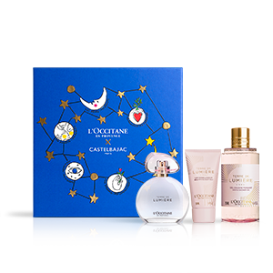 Coffret Cadeau Parfum Terre de Lumière L'Eau Noël | L'OCCITANE