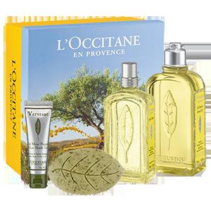 Coffret Cadeau Parfum Verveine Agrumes