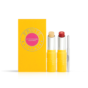 Coffret Rouge à Lèvres Duo | Red-Y to play? | L'OCCITANE