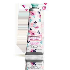 Crème Mains Eau Fraîche Fleurs de Cerisier