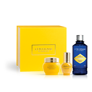 Rituel soin global anti-âge à l'Immortelle | L'OCCITANE
