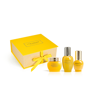 Trio anti-âge SPF à l'Immortelle | L'OCCITANE