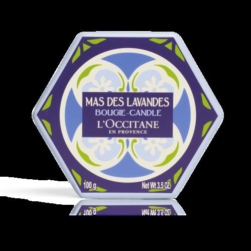 Bougie Parfumée Mas des Lavandes 100 gr