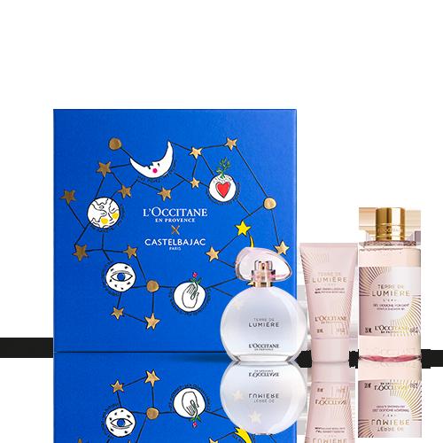 Coffret Cadeau Noël - Parfum Terre de Lumière L'Eau