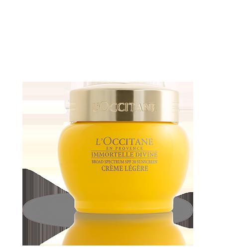 Crème Divine Immortelle Texture Légère SPF 20 50 ml