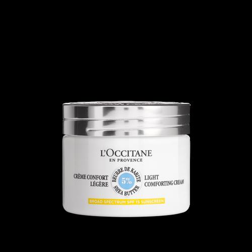 Crème Confort Légère Karité SPF15 50ml