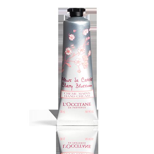 Crème Mains Fleurs de Cerisier 30 ml
