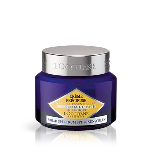 Crème Précieuse Immortelle Texture Légère SPF 20