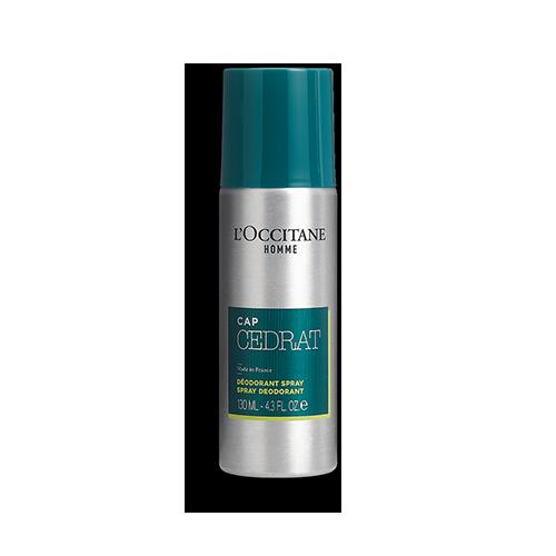 Déodorant Spray Cap Cédrat 130ml