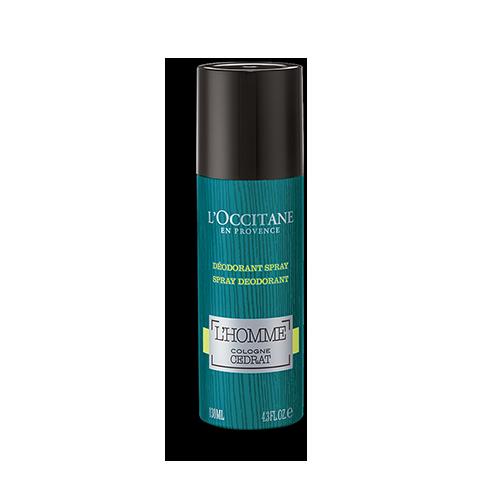 Déodorant Spray L'Homme Cologne Cédrat 130 ml