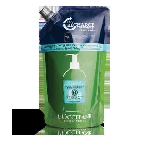 Eco-recharge Après-Shampooing Pure Fraîcheur 500 ml