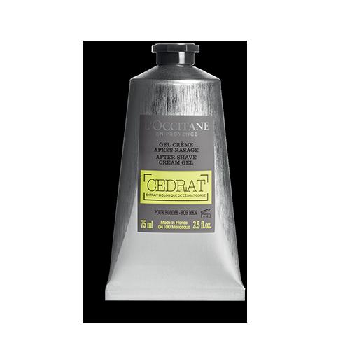 Gel Crème Après Rasage Cédrat 75 ml