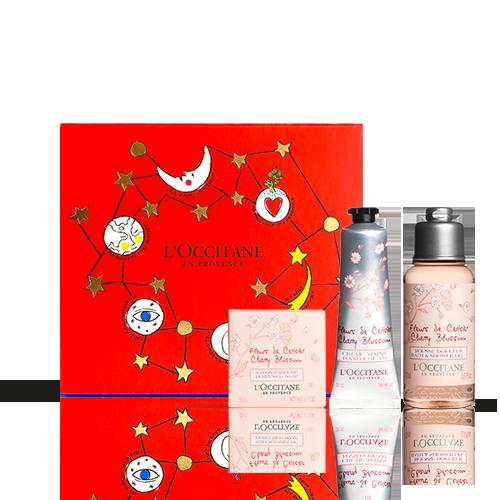 Mini Coffret Cadeau Noël - Fleurs de Cerisier
