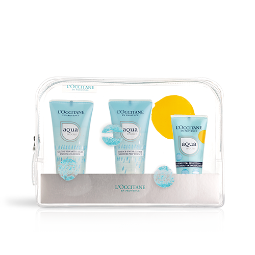 Trousse de Voyage Hydratation Aqua Réotier - Crème
