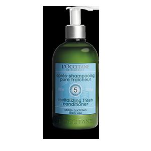 Après-Shampooing Pure Fraîcheur Aromachologie Grand Format - L'Occitane