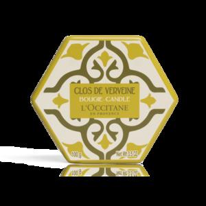 Bougie Parfumée Clos de Verveine - L'Occitane