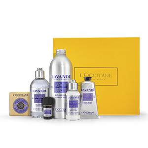 Collection Lavande parfumée - L'Occitane