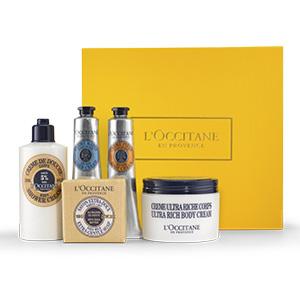 Collection Soin du Corps au beurre de karité nourrissant - L'Occitane