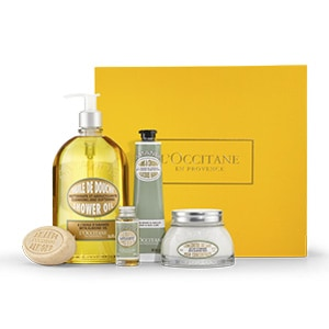 Collection Soin du corps Délicieuse Amande - L'Occitane