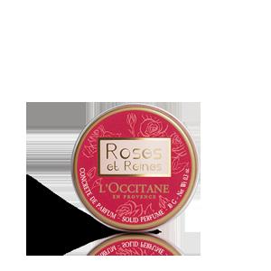 Concrète de parfum Roses et Reines