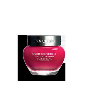 Crème Perfectrice Pivoine 50ml rouge conteneur