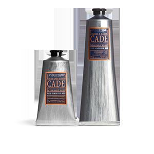 Duo crème à raser et baume après-rasage Cade