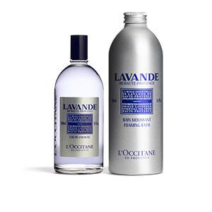 Duo eau de Cologne et bain moussant Lavande