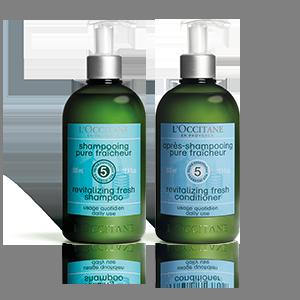 Duo revitalisant pour les cheveux Aromachologie - L'Occitane