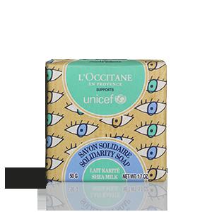 Savon solidaire au lait de karité - L'Occitane