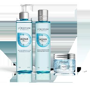 Trio Hydratant Aqua - L'Occitane