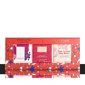 trio savon floral - L'Occitane