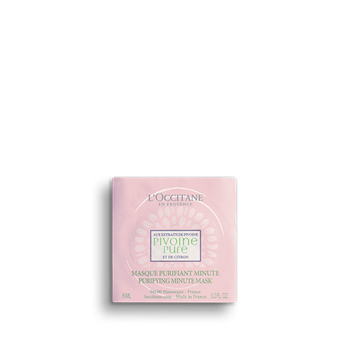 Masque Purifiant Minute Pivoine Pure