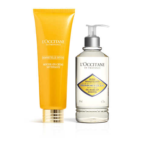 Puissant duo nettoyant Immortelle
