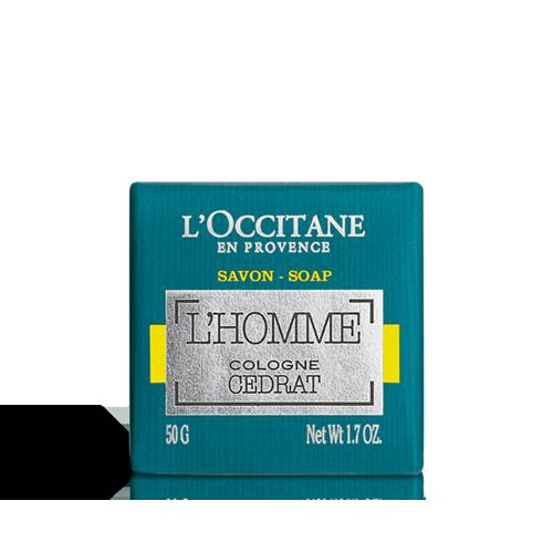 Savon L'Homme Cologne Cédrat 50gr