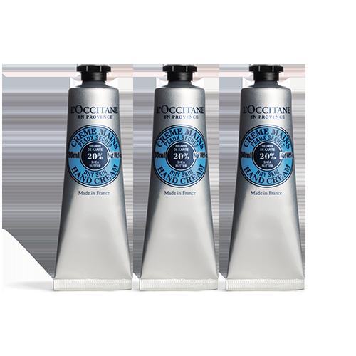 Trio Crème Mains Beurre de Karité