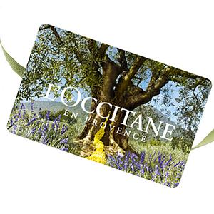 Carte Cadeau L'Occitane CHF25