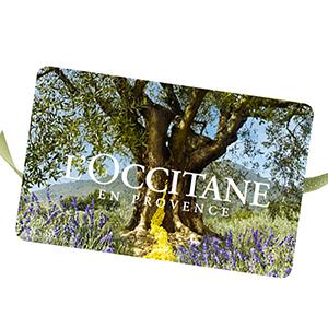 Carte Cadeau L'Occitane CHF50