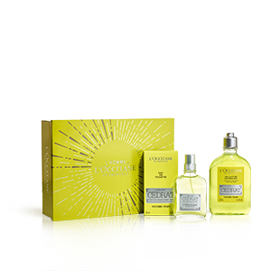 Coffret cadeau Parfumé Bain Cédrat