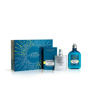Coffret Cadeau Parfumé Bain Homme Cologne Cédrat